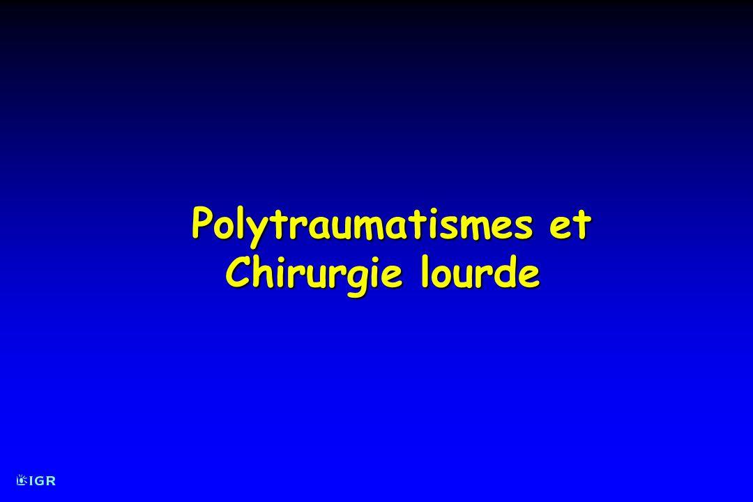 Polytraumatismes et Polytraumatismes et Chirurgie lourde