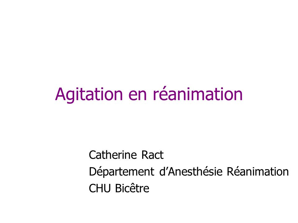 Cohen, Crit Care Med 2002 Roundtable : Management of the agitated intensive care unit patient.