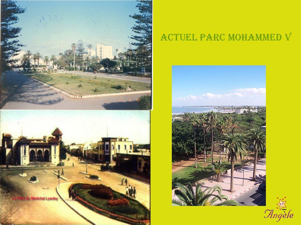 Actuel Parc Mohammed V Ex Parc Lyaut ey