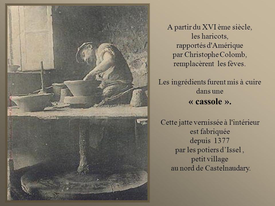 En lan de grâce 1337... cétait la guerre de Cent Ans, et Castelnaudary était assiégé. Les vivres se raréfiaient. Toutes les réserves furent alors réun