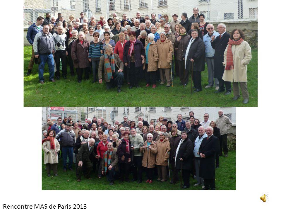 Rencontre MAS de Paris 2013
