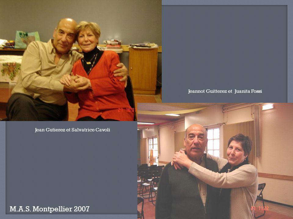 M.A.S. Montpellier 2007 Le Padre, Elise Amaro et notre invité surprise Iachella Robert