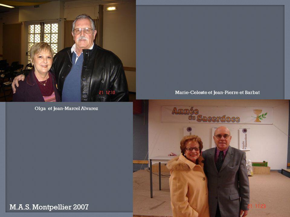 Olga et Jean-Marcel Alvarez Marie-Celeste et Jean-Pierre et Barbat