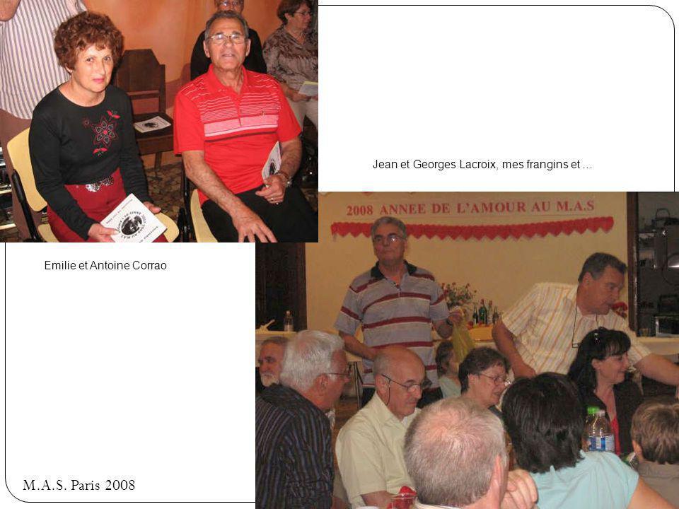 M.A.S. Paris 2008 Andréa Noto et ?