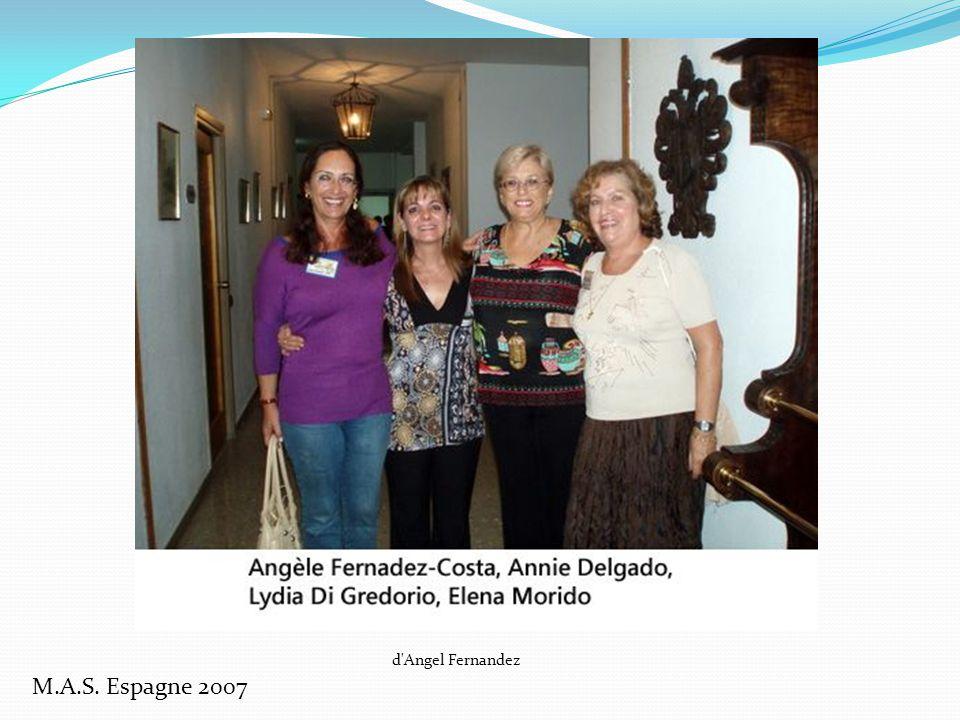 M.A.S. Espagne 2007 De José Morido : réunion du M.A.S.