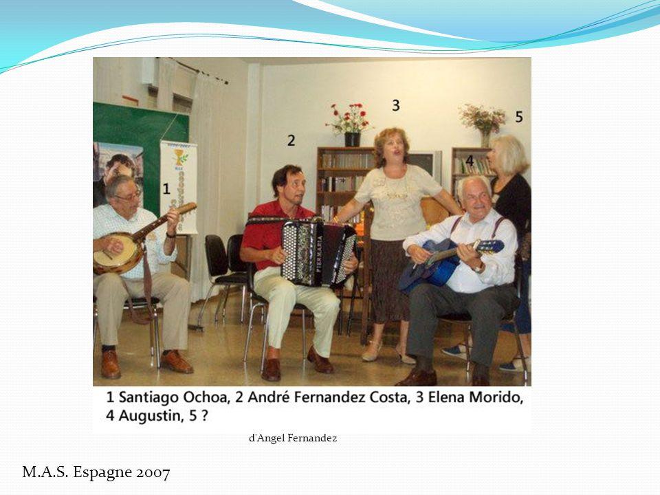 M.A.S. Espagne 2007 d Angel Fernandez
