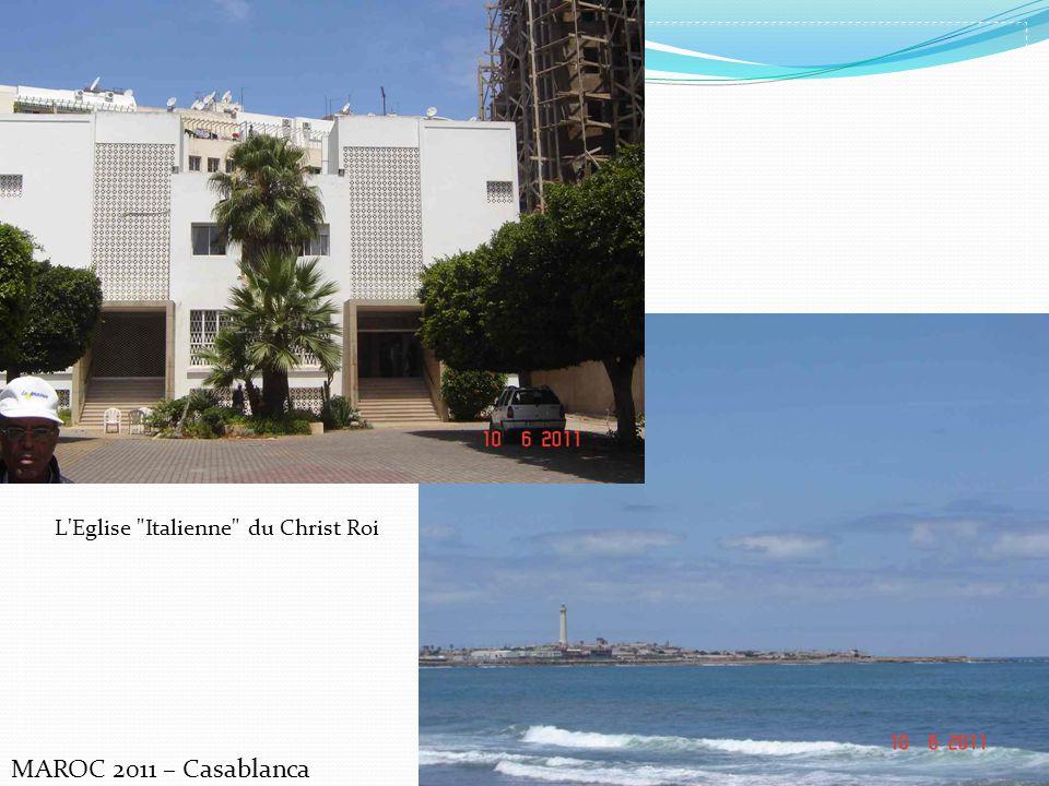 MAROC 2011 – Casablanca L'Eglise