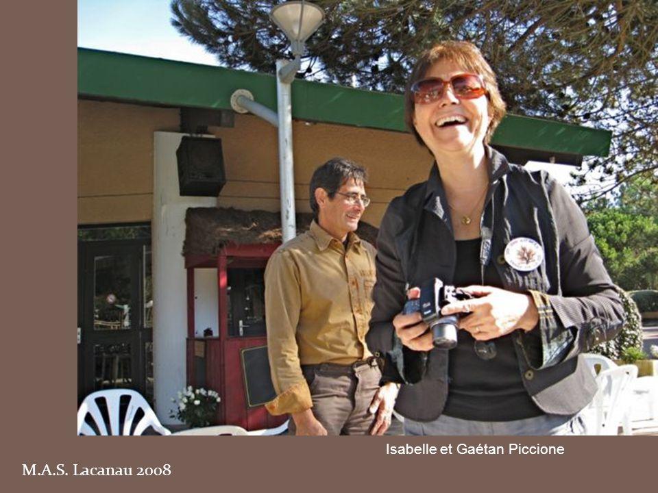 M.A.S. Lacanau 2008 Groupe de Kénitra ; au premier plan à gauche, Jeannette Fléry, née Cacace
