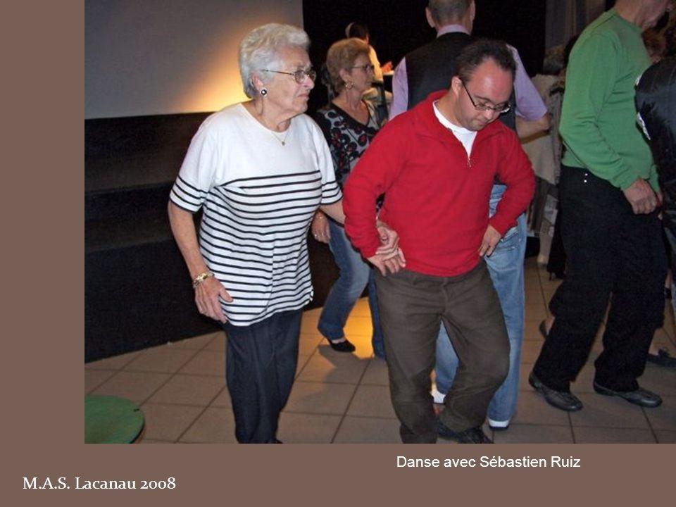 M.A.S. Lacanau 2008 Danse avec Sébastien Ruiz