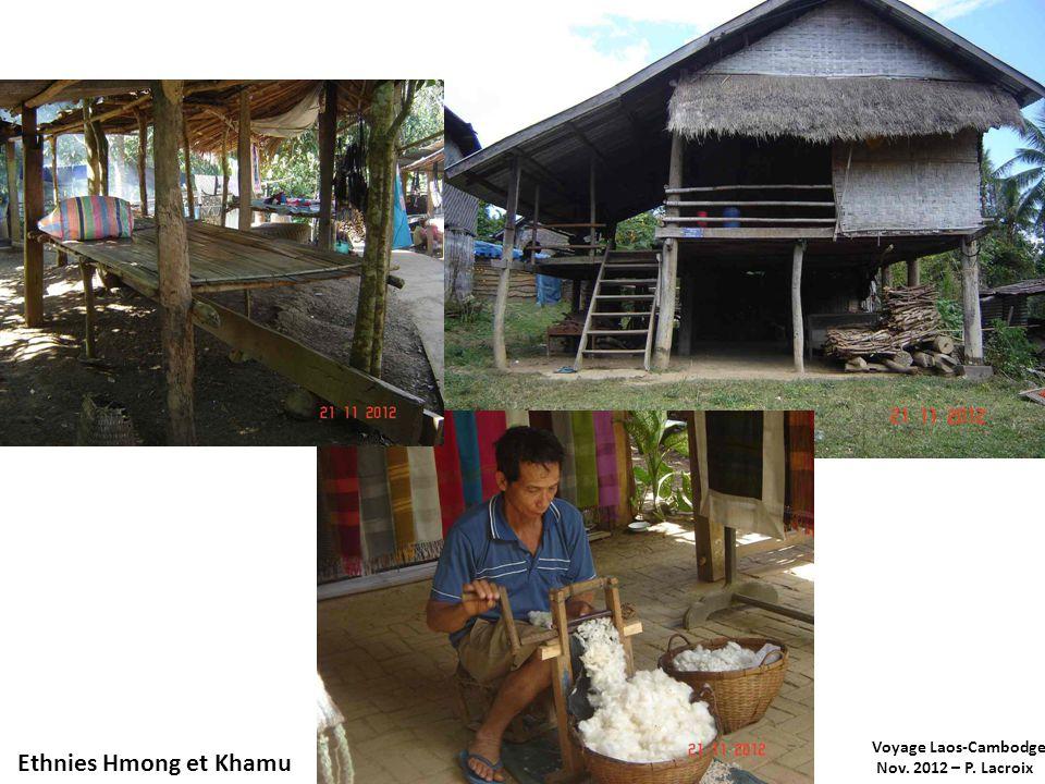Voyage Laos-Cambodge Nov. 2012 – P. Lacroix Ethnies Hmong et Khamu