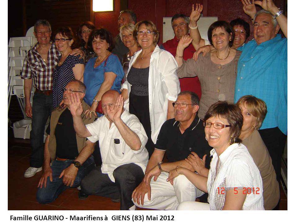 Famille GUARINO – Maarifiens à GIENS (83) Mai 2012 La chaussure d Anne- Marie après une marche Le pied de Rosette après une marche