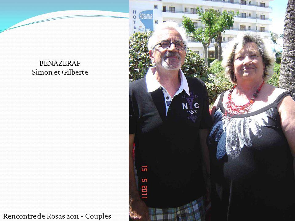 Rencontre de Rosas 2011 - Couples BENAZERAF Simon et Gilberte