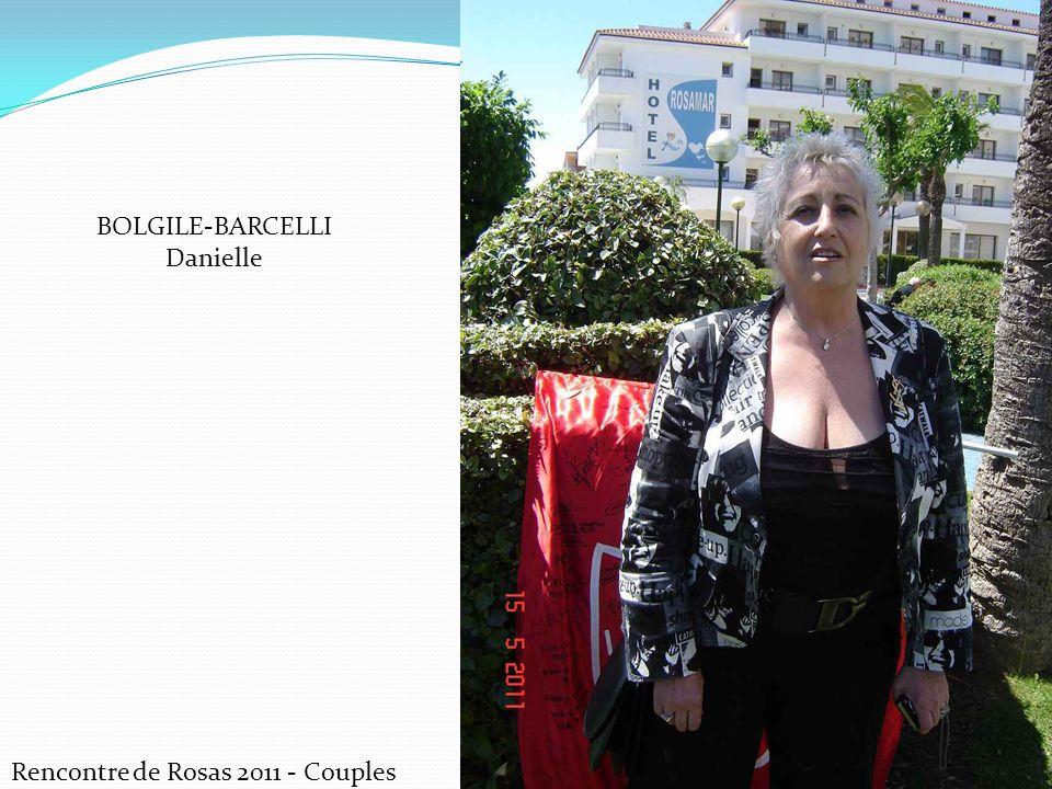 Rencontre de Rosas 2011 - Couples BOLGILE-BARCELLI Danielle