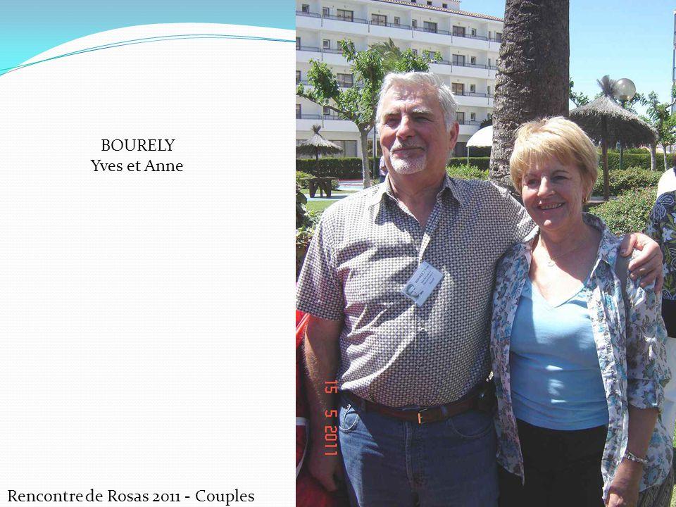 Rencontre de Rosas 2011 - Couples BOURELY Yves et Anne