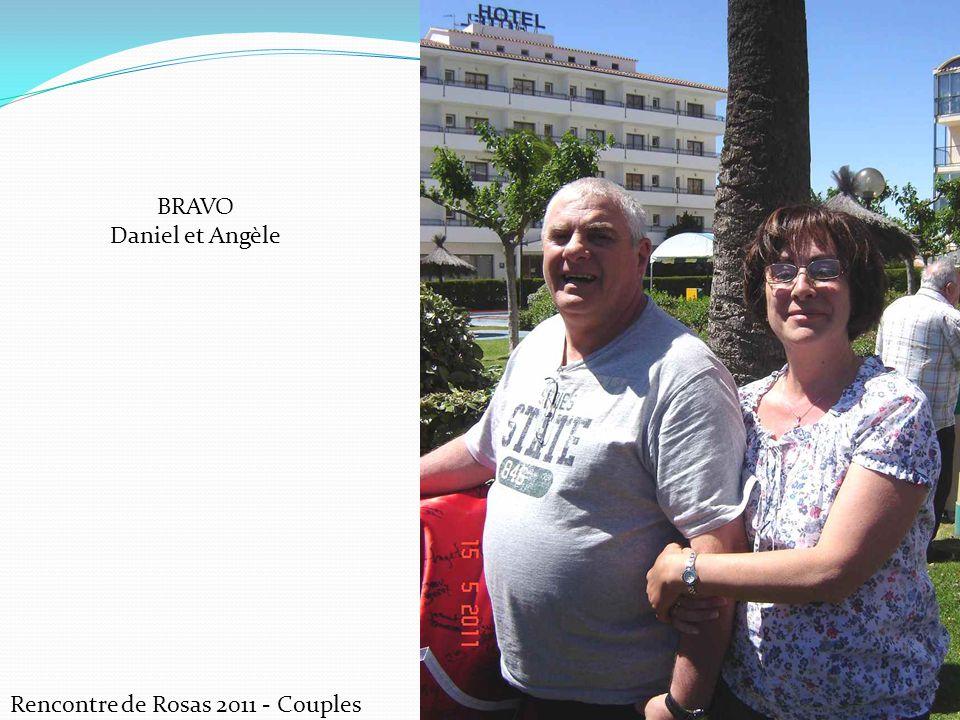 Rencontre de Rosas 2011 - Couples BRAVO Daniel et Angèle