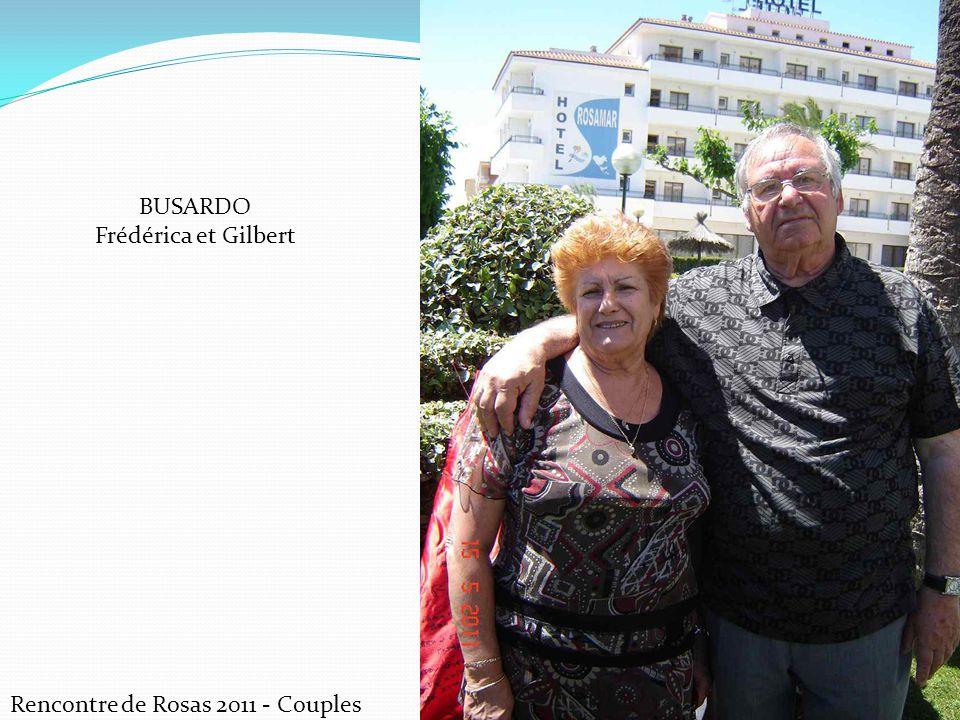 Rencontre de Rosas 2011 - Couples BUSARDO Frédérica et Gilbert