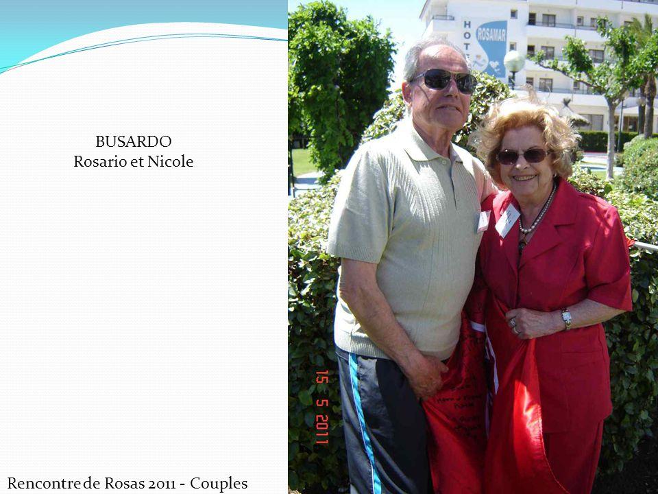 Rencontre de Rosas 2011 - Couples BUSARDO Rosario et Nicole