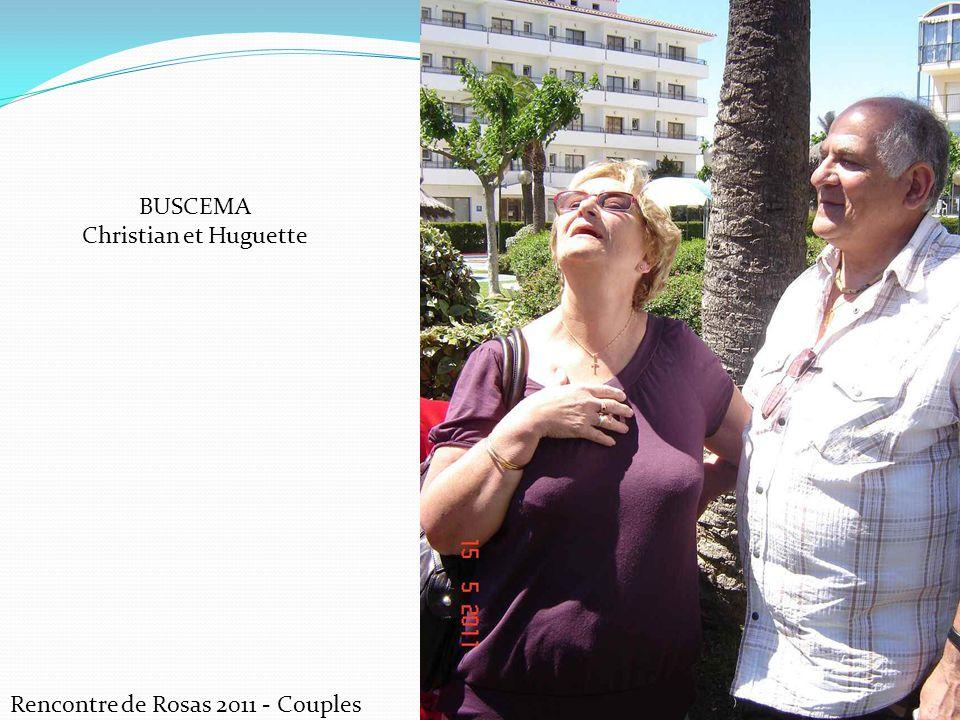 Rencontre de Rosas 2011 - Couples BUSCEMA Christian et Huguette