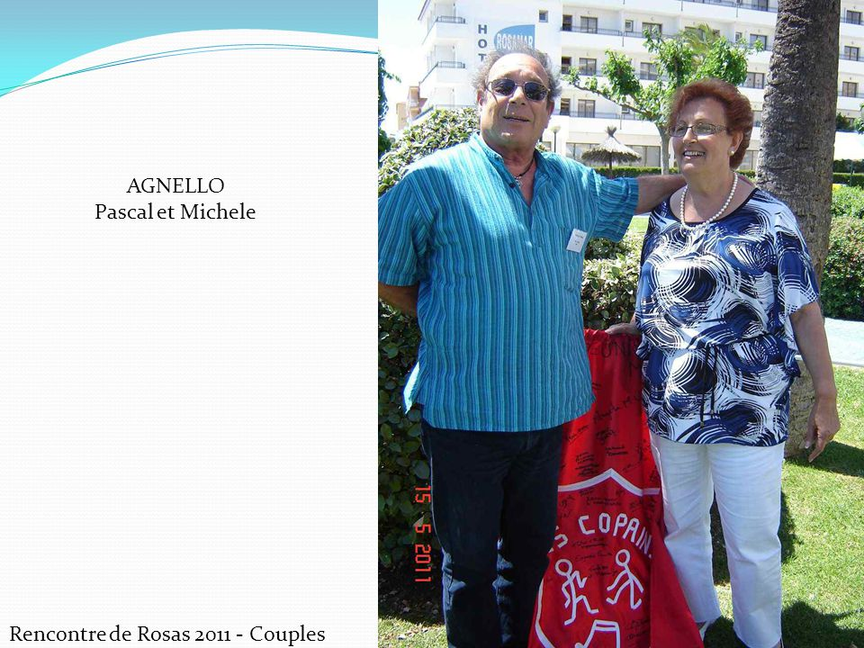 Rencontre de Rosas 2011 - Couples CANTAVENERA Héléne et Guy