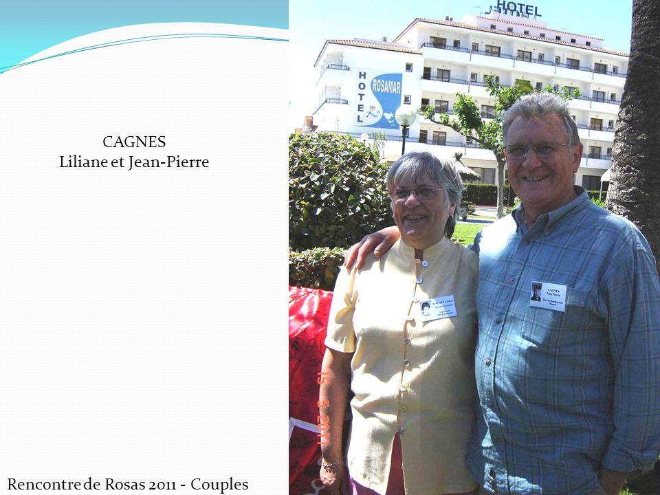 Rencontre de Rosas 2011 - Couples CAGNES Liliane et Jean-Pierre