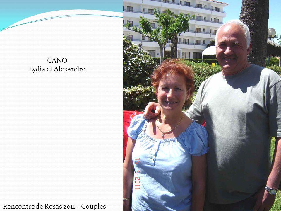 Rencontre de Rosas 2011 - Couples CANO Lydia et Alexandre