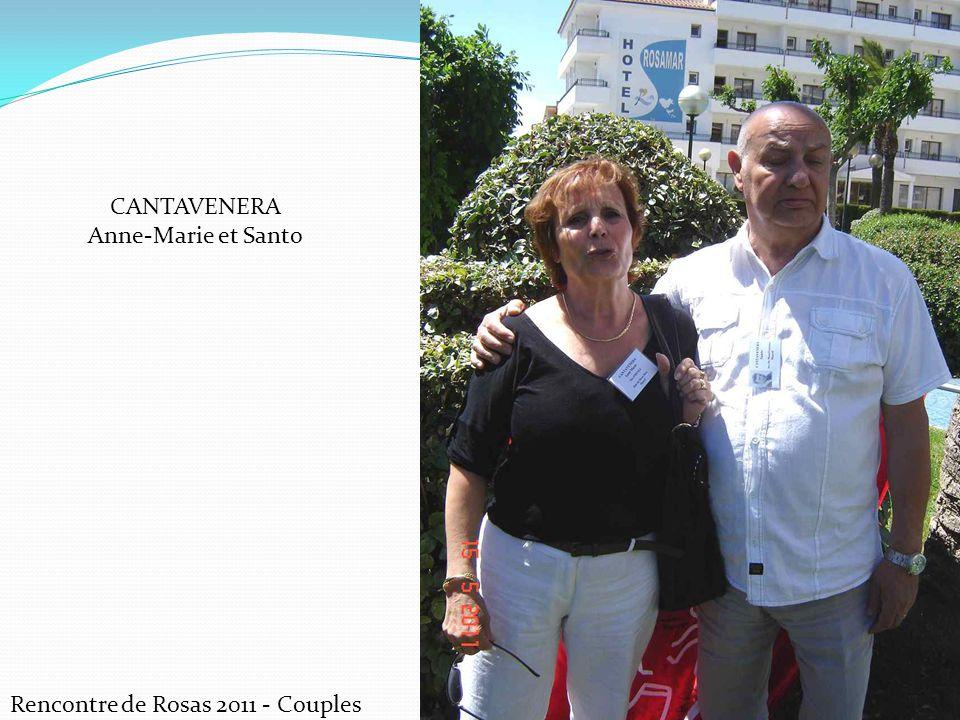Rencontre de Rosas 2011 - Couples CANTAVENERA Anne-Marie et Santo