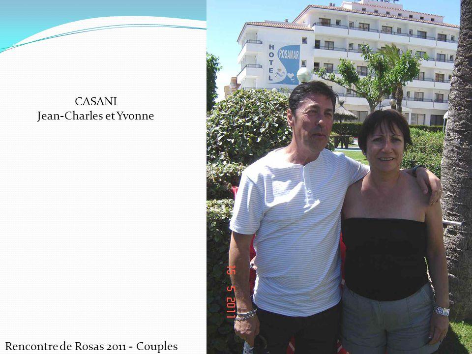 Rencontre de Rosas 2011 - Couples CASANI Jean-Charles et Yvonne