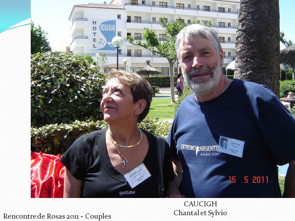 Rencontre de Rosas 2011 - Couples CAUCIGH Chantal et Sylvio