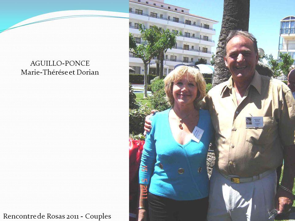Rencontre de Rosas 2011 - Couples CASADO Josette et Floreal