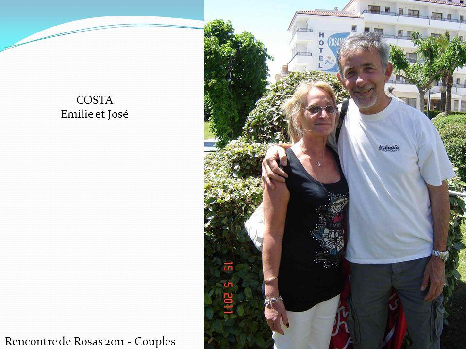 Rencontre de Rosas 2011 - Couples COSTA Emilie et José