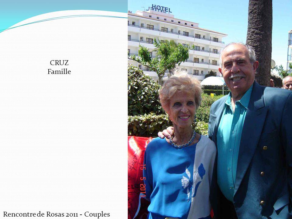 Rencontre de Rosas 2011 - Couples CRUZ Famille