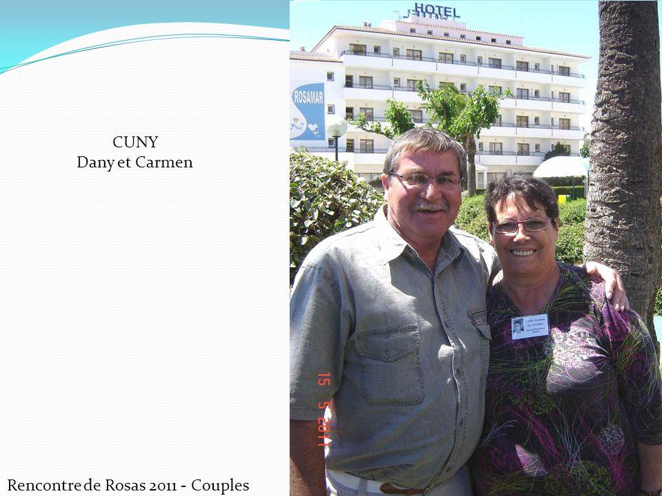 Rencontre de Rosas 2011 - Couples CUNY Dany et Carmen