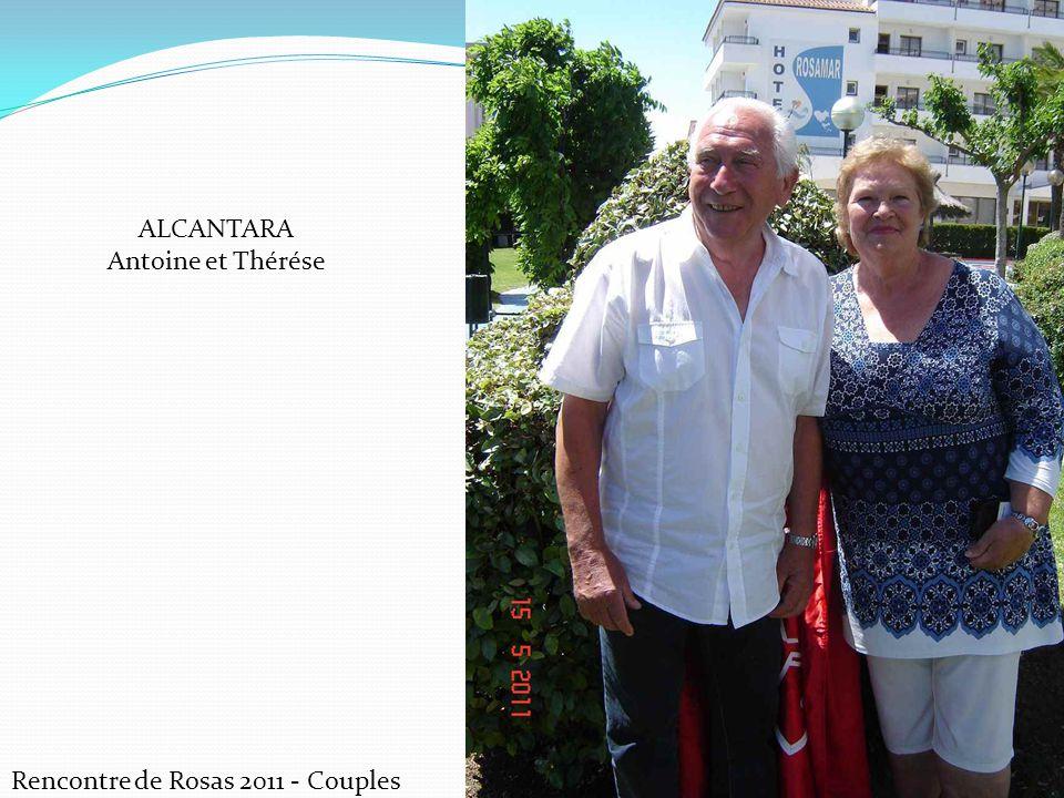 Rencontre de Rosas 2011 - Couples ALCANTARA Antoine et Thérése
