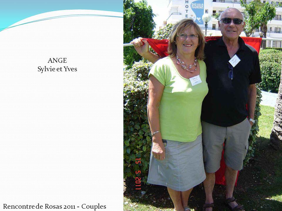 Rencontre de Rosas 2011 - Couples CERDAN Marie et Marcel