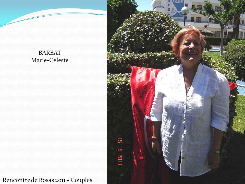 Rencontre de Rosas 2011 - Couples BARBAT Marie-Celeste