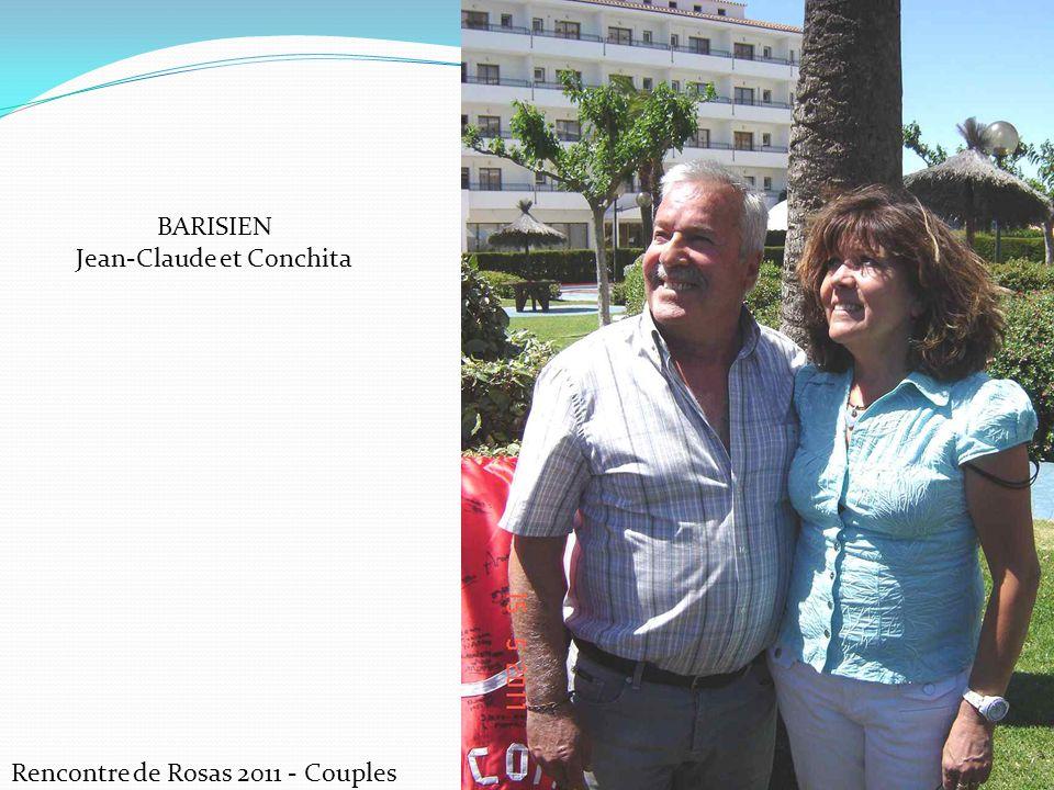Rencontre de Rosas 2011 - Couples BARISIEN Jean-Claude et Conchita
