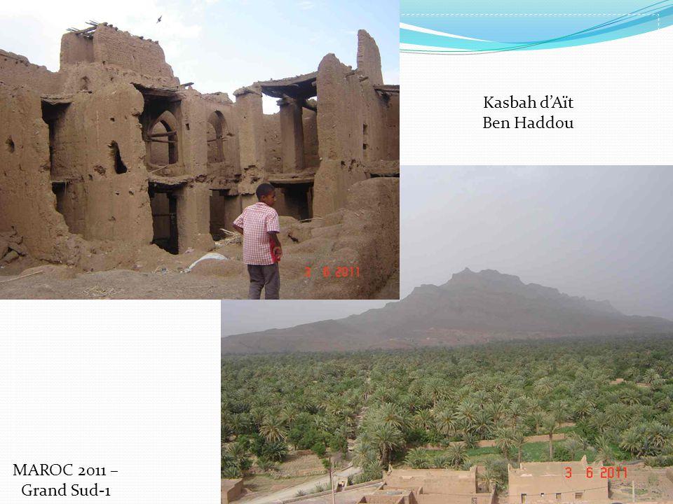 Kasbah dAït Ben Haddou MAROC 2011 – Grand Sud-1