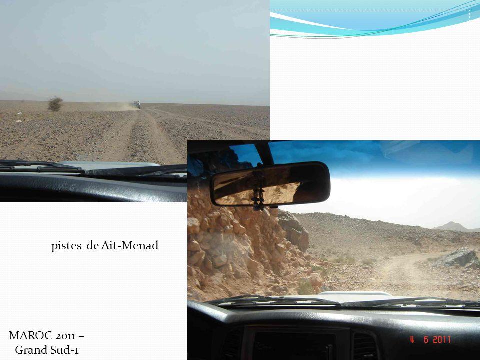 pistes de Ait-Menad MAROC 2011 – Grand Sud-1