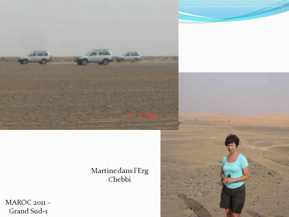 Martine dans l'Erg Chebbi MAROC 2011 – Grand Sud-1