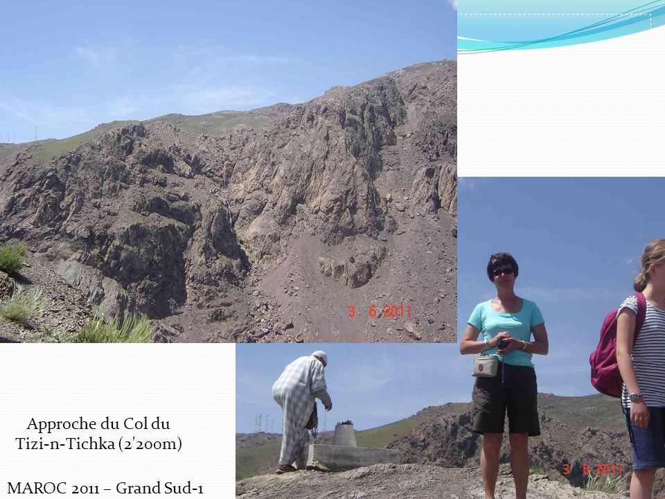 Approche du Col du Tizi-n-Tichka (2 200m) MAROC 2011 – Grand Sud-1