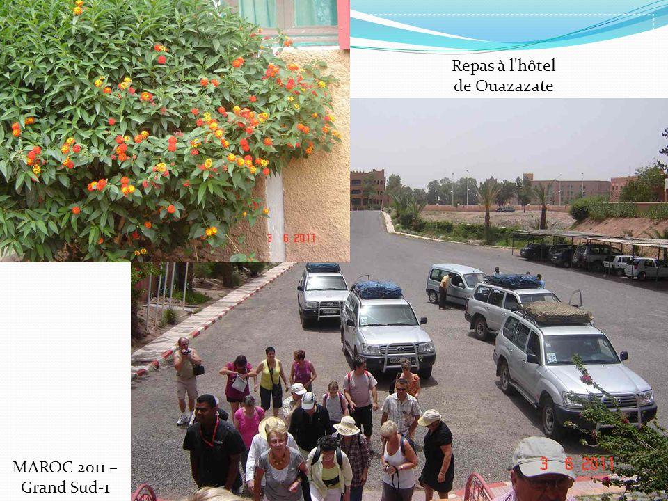 Repas à l hôtel de Ouazazate MAROC 2011 – Grand Sud-1