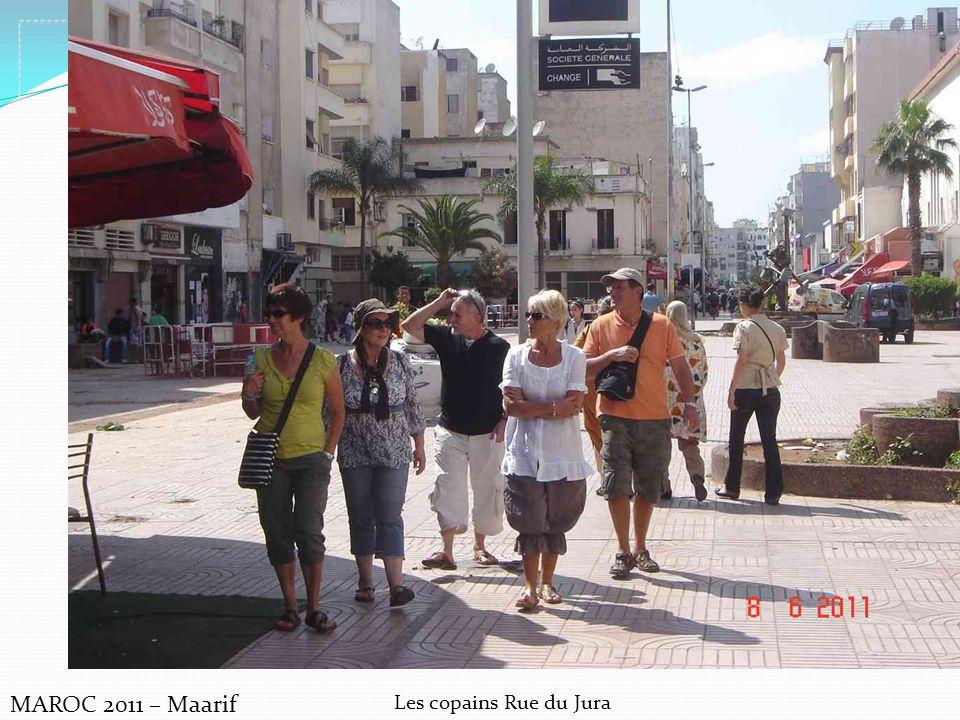 MAROC 2011 – Maarif Les copains Rue du Jura
