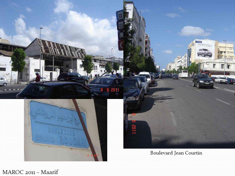 MAROC 2011 – Maarif Boulevard Jean Courtin
