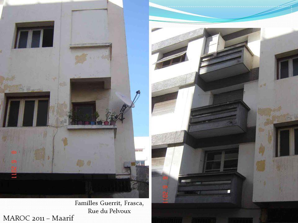 Familles Guerrit, Frasca, Rue du Pelvoux