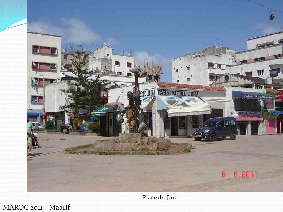 MAROC 2011 – Maarif Place du Jura