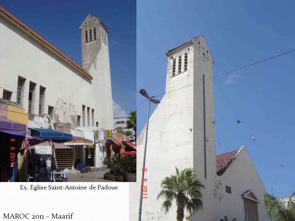 MAROC 2011 – Maarif Ex. Eglise Saint-Antoine de Padoue