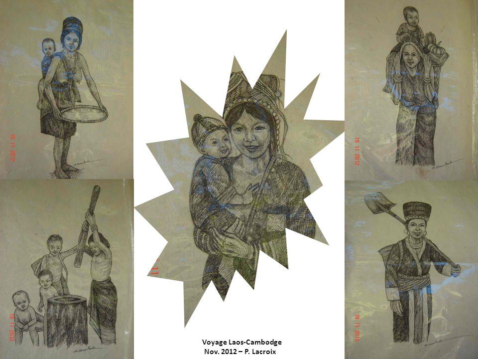 Voyage Laos-Cambodge Nov. 2012 – P. Lacroix Luang Pralong : Vat Mai