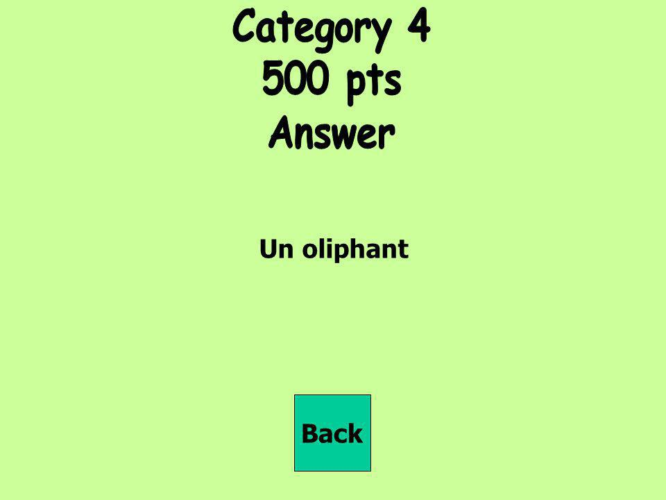 Un oliphant Back