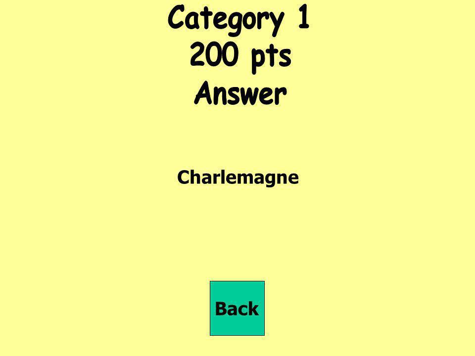 Quels royaumes est-ce que Charlemagne a contrôlés en Europe, à part la France? Back
