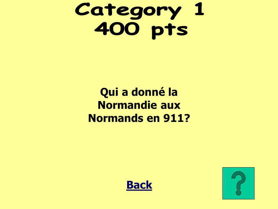 La Normandie Back